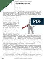 Conceptos generales de investigación en Fisioterapia - fisioEducacion