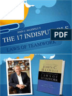 John Maxwell Laws of Teamwork