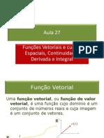 27_Funções Vetoriais_Derivada_Integral(1)
