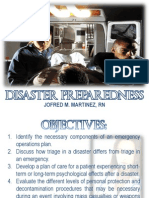 Emergency and Disaster Preparedness in Nursing