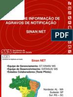 Apresentacao SINAN NET Atual