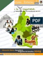 Programa Cultura de La Legalidad