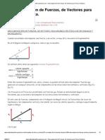 www.matematicasfisicaquimica.com - Descomposición de Fuerzas, de Vectores para Física_ Dinámica