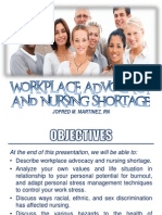Workplace Advocacy Nursing