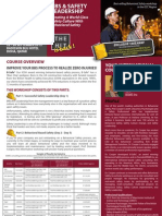 Behavioral Based Safety (BBS) & Safety Leadership 22 - 26 September 2013 Doha, Qatar