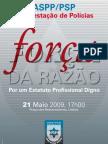 CARTAZ - FORCA DA RAZAO