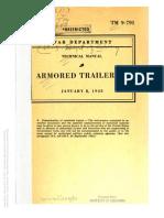 Tm 9-791 M8 ARMORED TRAILER