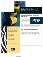 Zebra RW Series Mobile Printer Brochure