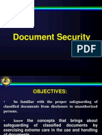 3. Document Security