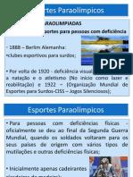 Histórico dos jogos Paraolímpicos