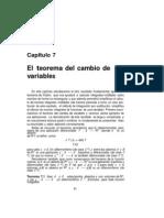 Cambio de Variables - Jacobiano