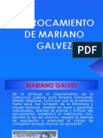 Derrocamiento de Mariano Galvez
