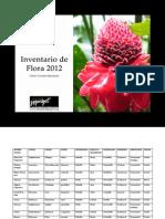 Inventario de Flora