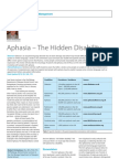 aphasia-the hidden disability