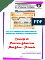 Catálogo de Páginas Interactivas PERUEDUCA 2013