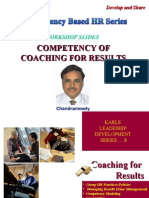 Competency of Coaching for Resuts - Workshop Slides - Chandramowly