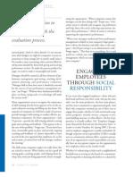 Engaging Employees Through Social Responsibility.