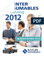 Katun USA Printer Catalog Oct 2012 No Price1
