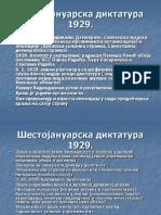 Sestojanuarska diktatura 1929.