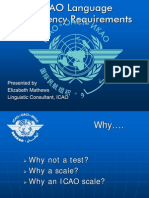 ICAO Language proficiency Requirements