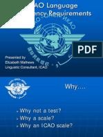 ICAO Language proficiency Requirements