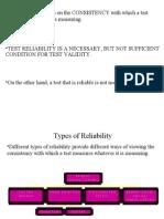 Reliability Organizer
