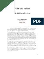 Death Bed Visions- Sir William Barrett