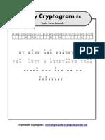 Easy Cryptogram6