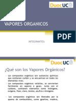 VAPORES ORGANICOS