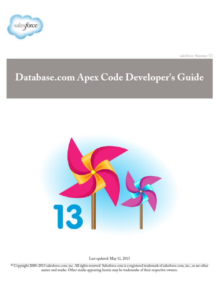 Database com Apex Code Developer's Guide | WiMarBueno | Class