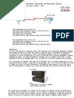 Configuración de Enlaces Seriales en Routers Cisco