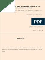 Efeitos da Cocaina no Desenvolvimento da Linguagem em cria_n