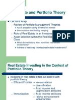 LS.real Estate and Portfolio Theory