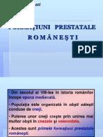 Formatiuni Prestatale Romanesti.ppt