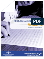Programacin de Armona