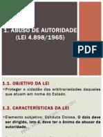 Lei de Abuso de Autoridade - PDF