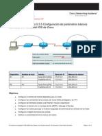 Laboratorio Configuracion Equipos Cisco
