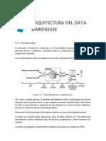 Arquitectura Del Data Warehouse 2013