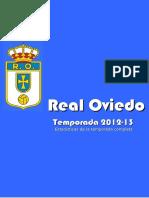 ROCF / Real Oviedo Temporada 2012-13