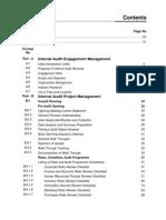 Manual on Internal Audit