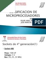 Clasificacion de Microprocesadores