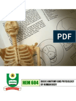 Basics of anatomy & physiology