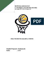 struktur organisasi basket Bagan Struktur Di Industri proposal kegiatan