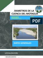 Parametros de La Cuenca Del Motagua