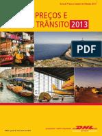 Dhl Express Rate Transit Guide Pt Pt 2013