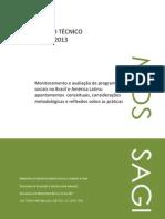 Monitoramento e avaliação de programas sociais no Brasil e América Latina