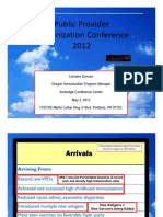 Oregon Immunization Conference slides