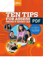 Edutopia 10 Tips Assessing Project Based Learning Copy