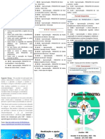 Folder Do Encontro Dos PROGETECs