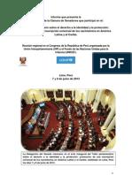 26-06-13 INFORME Taller parlamentario - Perú